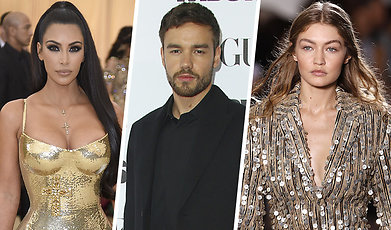 Kanye West, Miley Cyrus, Kim Kardashian
