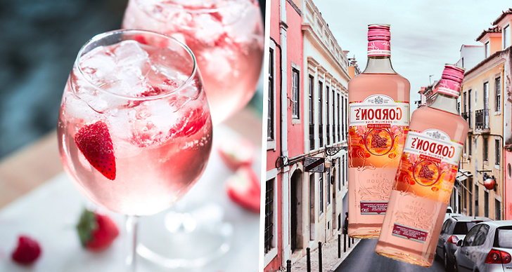 Gordon's Pink Gin, alkohol, dryck, nyhet