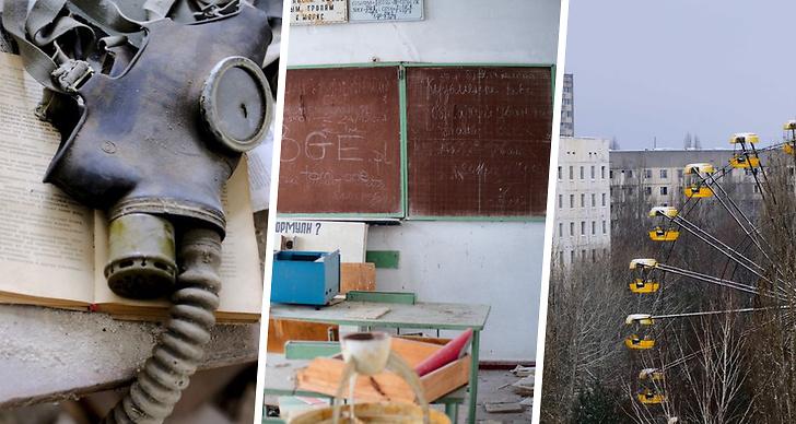 Bilder på hur Tjernobyl ser ut nu.