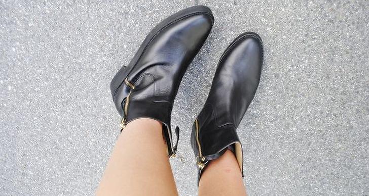 """""""Är lite smått förälskad i mina nya boots."""""""