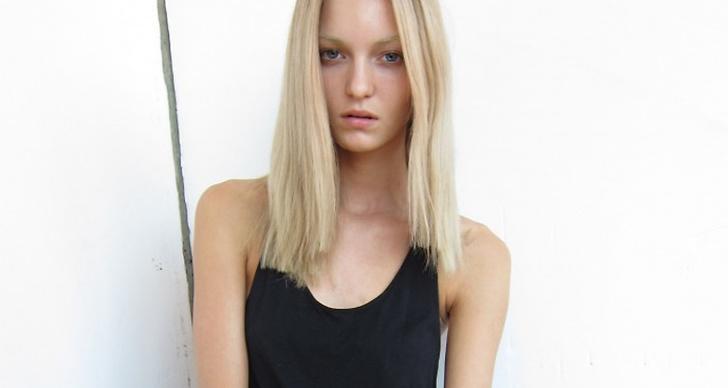 Svenska Theres Alexandersson inledde säsongen med Stockholm Fashion Week och siktades därefter på catwalken för Lanvin och Alexander McQueen.