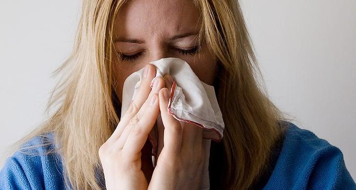 Sjuk på semester, semester, förkyld