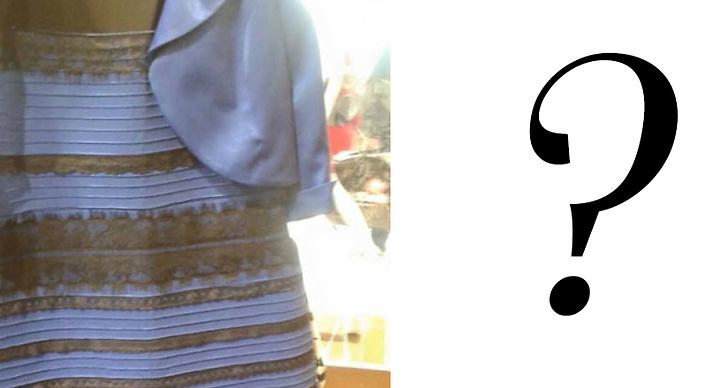 vit och guldig klänning