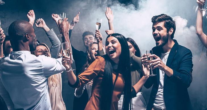 Alkohol, fest, utgång