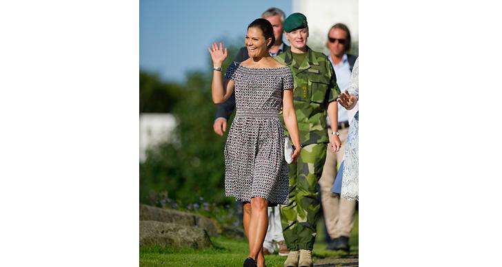 Kronprinsessan Victoria har gått grundutbildningen som soldat.