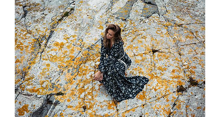 Lisa Olsson – MAGISK klänning i bohemisk anda.