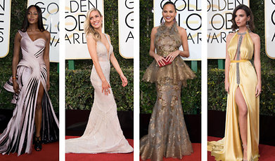 Golden Globe, Outfit