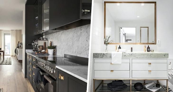 Lyxig lägenhet i Stockholm
