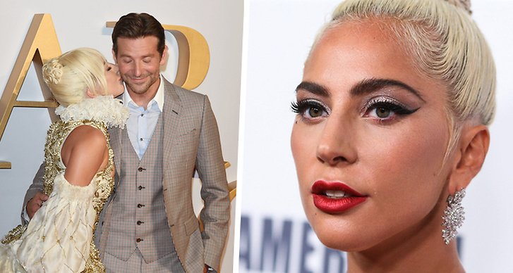 Lady Gaga och Bradley Cooper, A star is born