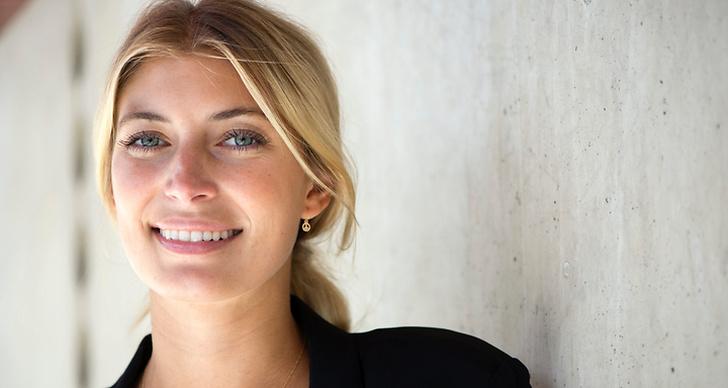 Cecilia Forss på Svenska Filminstitutet pressdag.