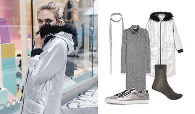 Shopping, Tillbaka till framtiden, Silver, Höst, Back to the future