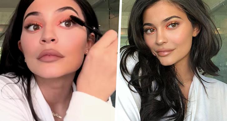 Så sminkar sig Kylie Jenner