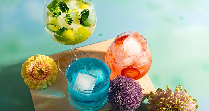 Goda recept på Gin och tonic-drinkar i sommar