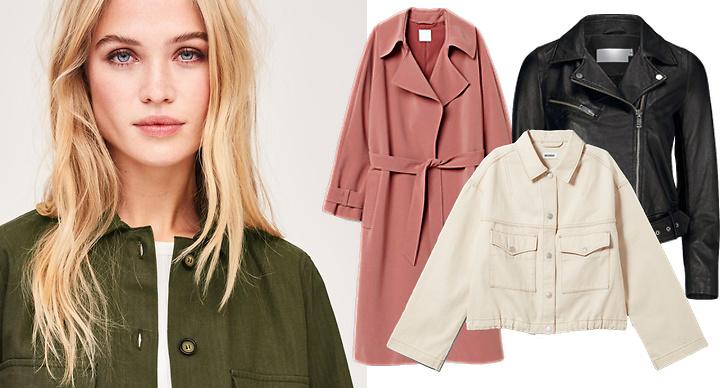 Trendiga jackor våren 2019, kappor, jackor