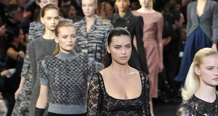 Hög svansföring hos Louis Vuitton, höst/vinter 2010.