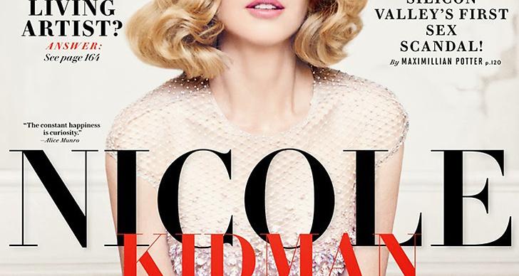 Nicole Kidman på Vanity Fair