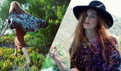 Vintage, Lookbook, Chanel, Bohemiskt, Fashion