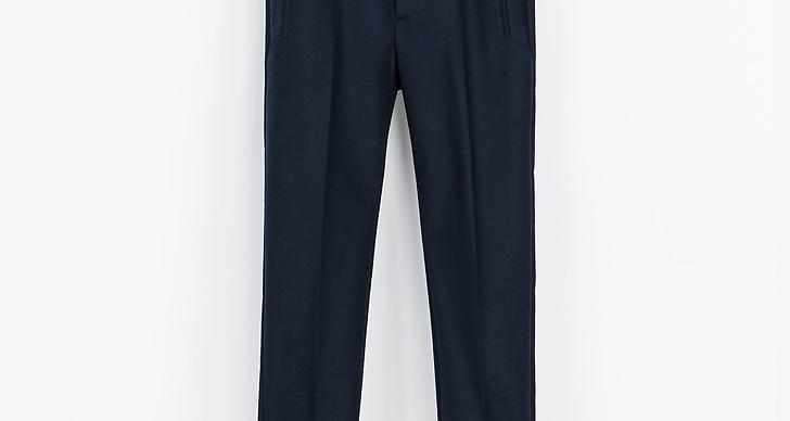 Marinblåa med tillhörande bälte, Zara 399kr