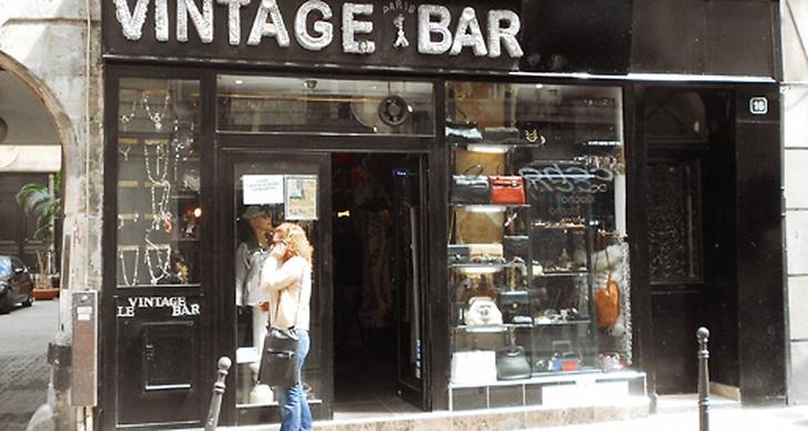 Vintage Bar, Rue de la Verrerie.