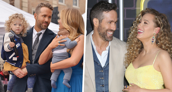 Blake Lively och Ryan Reynolds, barn.