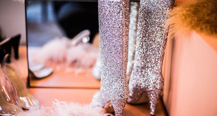 Glittriga boots
