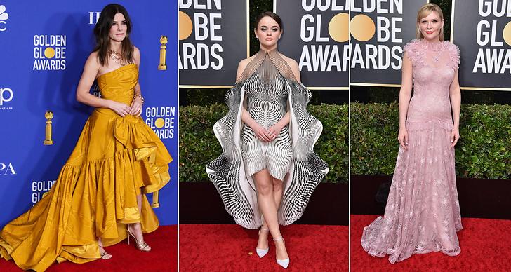 Kändisarna på Golden Globe Awards 2020.