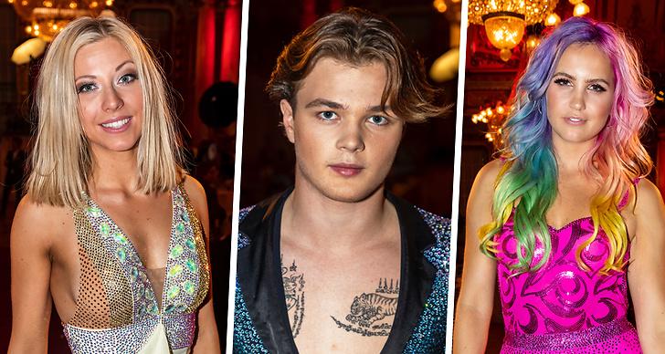 Kändisarna och dansarna från Let's Dance 2019.