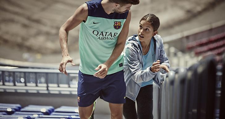 Nike hyllar kvinnor som pushar sig själva