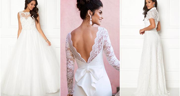 14 vackra klänningar till bröllopet