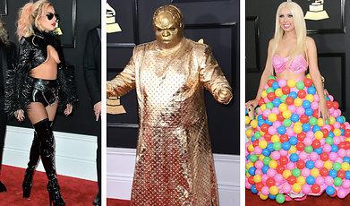 Lady Gaga, Katy Perry, Looks, Grammy Awards