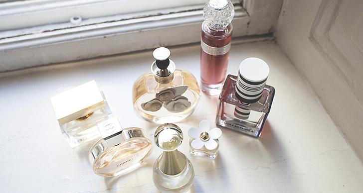 """""""Parfymen J'adore från Dior är min absoluta favorit!"""""""