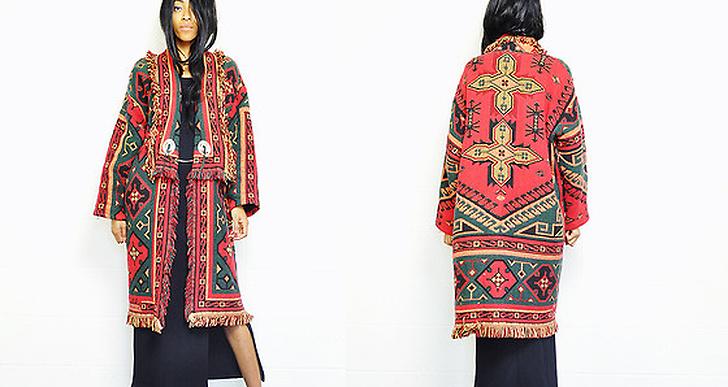 Crystal från Nashville är stencool i sin vintage navajo-jacka. Fler outfits från henne hittar du här http://lookbook.nu/crystalwood
