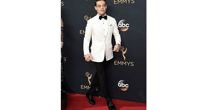 Rami Malek vann sin första Emmy någonsin för hans roll i MR. Robot.