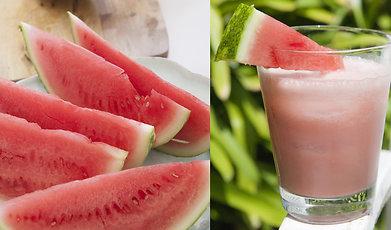 food inspiration, health food, Bloggare, Foodjunkie, nyttig dricka, vattelmelon shake, pink milk, rosa mjölk, food blog, mandelmjölk