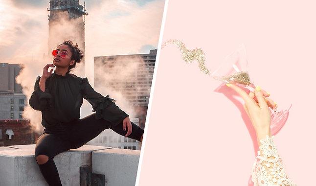 Bianca Ingrosso visar bröstvårtorna: Jag älskar mina bröst