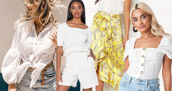 Modetrender sommaren 2019.