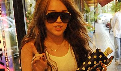 Miley Cyrus, balenciaga