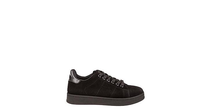 You have 2 have this! du hittar dem hos  <a href='https://track.adtraction.com/t/t?a=462891025&as=1119460438&t=2&tk=1&url=http://www.bubbleroom.se/sv/skor/kvinna/have2have/stövlar-boots/sneakers-single-svart'>Have2Have</a>, 298 kronor.