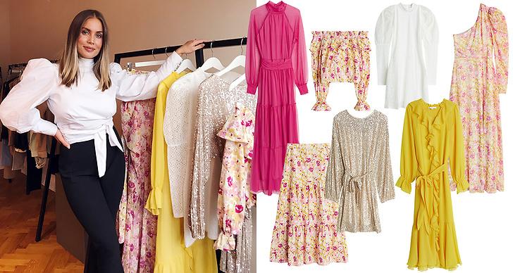 Den perfekta klänningen till midsommar, studenten, bröllopsfesten, danskvällen eller bara en varm sommardag. I kollektionen finns en klänning för varje tillfälle!